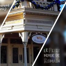 [Petit monde] Walt's - an American restaurant (Disneyland Paris) - Menu Anniversaire 90 ans de Mickey